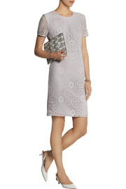 Burberry London Crocheted lace dress