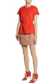 Victoria, Victoria BeckhamLayer-effect cotton-blend dress