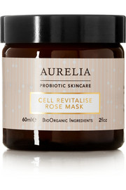 Aurelia Probiotic Skincare Cell Revitalise Rose Mask, 60ml