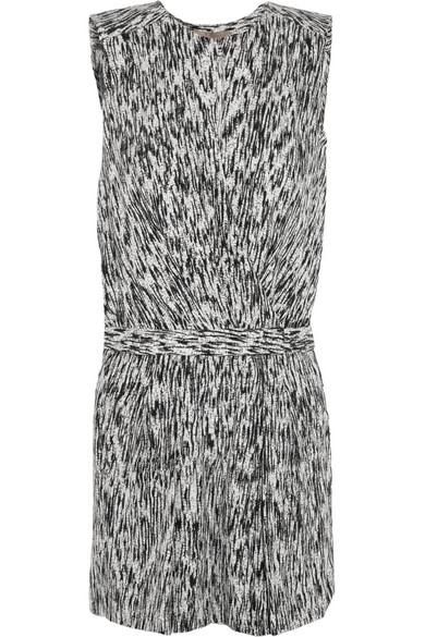 Sale alerts for Printed stretch-silk playsuit Halston Heritage - Covvet