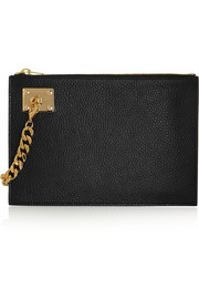 Sophie Hulme Textured-leather pouch
