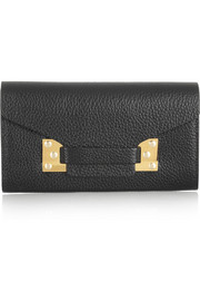 Sophie Hulme Textured-leather wallet