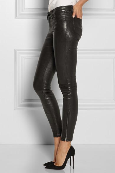 verfügbar unverwechselbares Design populäres Design L8001 eng geschnittene Lederhose