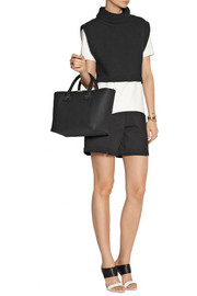 Victoria Beckham Quincy textured-leather tote