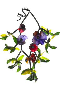 MarniFloral embellished necklace