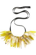 Marni Petal acrylic necklace