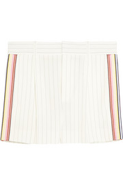 Chloé Pinstriped crepe shorts