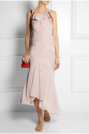 Chloé Striped crepe dress