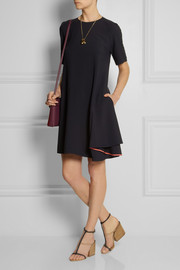 Chloé Draped crepe dress
