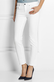 Victoria Beckham Denim High-rise slim-leg jeans