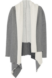 OAK Cotton-blend jersey cardigan