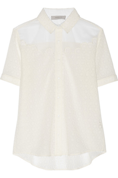 Sale alerts for Lyra broderie anglaise shirt Preen Line - Covvet