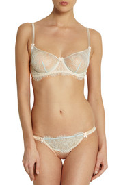 Mimi Holliday by Damaris Banoffee Pie lace and stretch-silk underwired bra