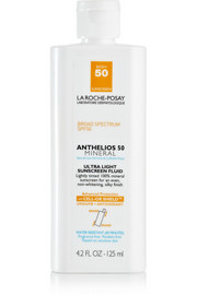 La Roche-Posay Anthelios Tinted Mineral Ultra Light Body Sunscreen SPF50, 125ml