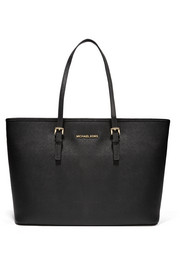 MICHAEL Michael Kors Jet Set Travel textured-leather tote