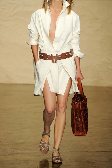 Donna karan new york stretch cotton and linen blend for How to stretch a dress shirt