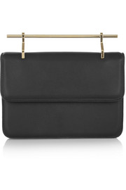 M2Malletier La Fleur Du Mal leather clutch