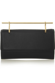 Fabricca leather clutch