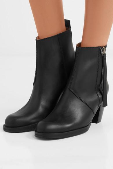 e3914989db6 Acne Studios | The Pistol leather ankle boots | NET-A-PORTER.COM