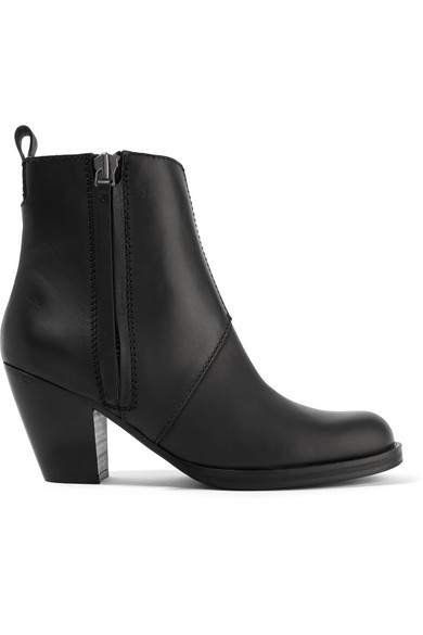e1665e8e5b5 The Pistol leather ankle boots
