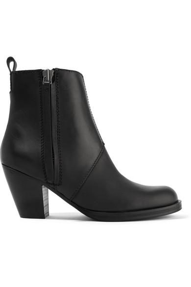 Acne Studios aus | Pistol Ankle Boots aus Studios Leder e07b31