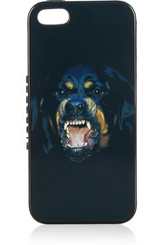 Givenchy Rottweiler-print iPhone 5 cover