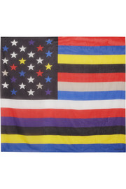 Givenchy Square scarf 140cm x 140cm American Flag