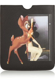 Bambi iPad case in printed coated-canvas