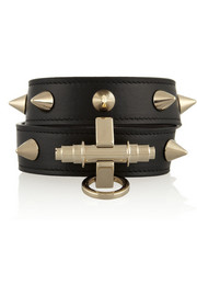 Givenchy Obsedia bracelet in black leather