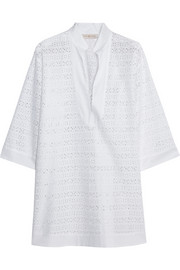 Tory Burch Encintas broderie anglaise cotton tunic
