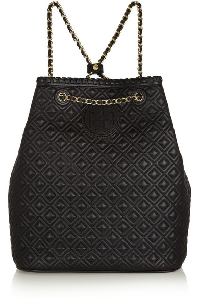 Tory Burch Marion Quilted Leather Backpack Net A