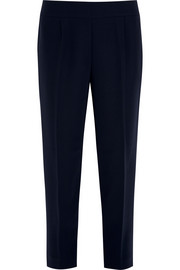Curator cropped crepe tapered pants