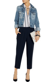 J.Crew Curator cropped crepe tapered pants