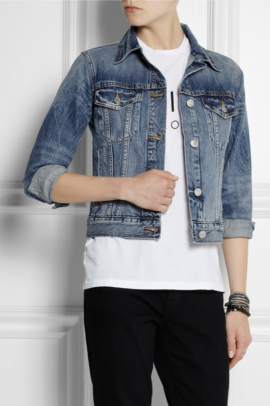 Jcrew  Vintage Denim Jacket  Net-A-Portercom-3036