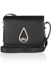 KENZO Raindrop leather shoulder bag