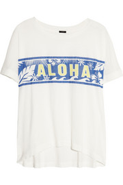 J.Crew Aloha cotton T-shirt