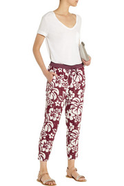 J.Crew Collection Genmaicha sequined cotton straight-leg pants