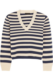 J.Crew Collection striped cotton sweater