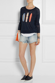 J.Crew Surfboard linen sweater