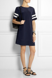 J.Crew Striped silk dress