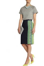 J.Crew Collection bouclé-tweed pencil skirt