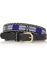 Isabel Marant Barbershop beaded leather belt