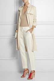 Fendi Silk straight-leg pants