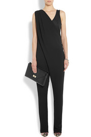 Givenchy Black stretch-crepe jumpsuit