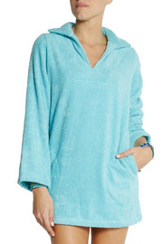 Lisa Marie Fernandez Boyfriend cotton-terry beach tunic