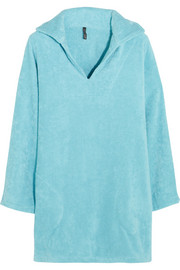 Boyfriend cotton-terry beach tunic