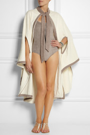 Lisa Marie Fernandez Cotton-terry beach cape
