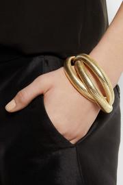 Kenneth Jay LaneGold-plated wrap bracelet