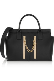 Chloé Cate medium textured-leather tote