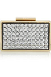Lanvin Crystal box clutch